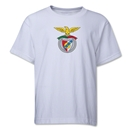 Benfica Youth Soccer T-Shirt (White)
