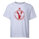 Xolos de Tijuana Youth Distressed T-Shirt (White)