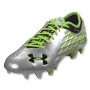 Under Armour 10K Force Pro II FG (Metallic Silver/Filament Green/Black)