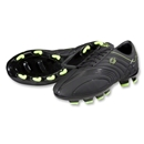 Pele Trinity FG KIDS Soccer Shoes (Black)