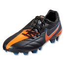 Nike T90 Strike IV FG (Black/Total Orange/Blue Glow)