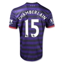 Arsenal 12/13 CHAMBERLAIN Away Soccer Jersey
