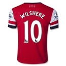Arsenal 12/13 WILSHERE Youth Home Soccer Jersey