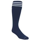 Three-Stripe Socks (Navy/White)