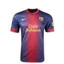 Barcelona 12/13 Youth Home Soccer Jersey