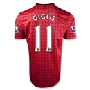 Manchester United 12/13 GIGGS Youth Home Soccer Jersey