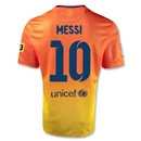 Barcelona 12/13 MESSI Away Soccer Jersey