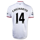 Manchester United 12/13 CHICHARITO Away Soccer Jersey
