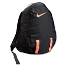 Nike Soccer Offense Compact Backpack (Blk/Orange)
