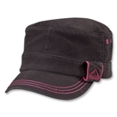 adidas Women's Country Military Cap (Black/Pink)