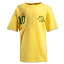 Pele Sports #10 Youth T-Shirt (Yellow)