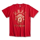 Manchester United Foil Badge T-Shirt (Red)