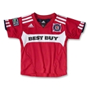 Chicago Fire 2012 Toddler Home Soccer Jersey