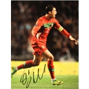 Signed Cristiano Ronaldo Portugal Photo