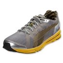 PUMA BOLT evoSPEED Runner (Limestone Gray/Spectra Yellow)