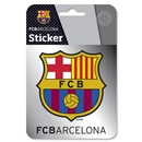 Barcelona Metal Crest Sticker