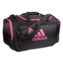 adidas Defender Duffle Medium (Black/Pink)