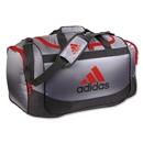 adidas Defender Duffle Medium (Gray/Red)