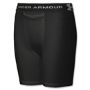 Under Armour Boy's HeatGear Compression Short (Black)
