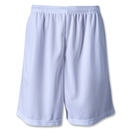 Zip Pocket Coach's Short (White)
