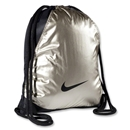 Nike Varsity Girl Metallic Gymsack (Gold)
