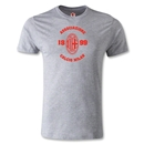 AC Milan Distressed Men's Fashion T-Shirt (Gray)