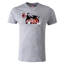 AC Milan Graphic Men's Fashion T-Shirt (Gray)