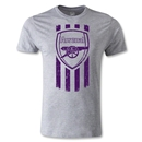 Arsenal Graphic Men's Fashion T-Shirt (Gray)