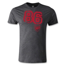 Arsenal 86 Men's Fashion T-Shirt (Dark Gray)