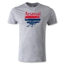 Arsenal Distressed Graphic Men's Fashion T-Shirt (Gray)
