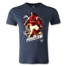 Arsenal Podolski Player Men's Fashion T-Shirt (Navy)
