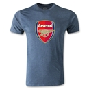 Arsenal Crest Men's Fashion T-Shirt (Blue)