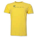 Arsenal Cannon Men's Fashion T-Shirt (Yellow)