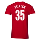 Arsenal Zelalem 35 Men's Fashion T-Shirt (Red)