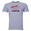 Derlon American Outlaws Recife T-Shirt (Grey)