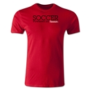 America Scores Passion Poetry T-Shirt (Red)