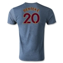 Aston Villa BENTEKE Player T-Shirt (Blue)