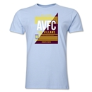 Aston Villa AVFC Men's Fashion T-Shirt (Sky Blue)