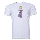 Aston Villa Vlaar Men's Fashion T-Shirt (White)