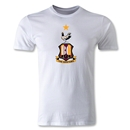 Bradford City Crest Men's Fashion T-Shirt (White)