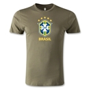 Brazil Men's Fashion T-Shirt (Dark Green)