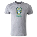 Brazil Men's Fashion T-Shirt (Gray)