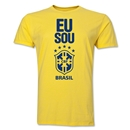 Brazil Men's Fashion T-Shirt (Yellow)