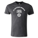Bayern Munich Distressed Established 1900 Men's Fashion T-Shirt (Dark Gray)