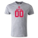 Bayern Munich Distressed 1900 Men's Fashion T-Shirt (Gray)