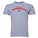 Bayern Munich Rekordmeister Men's Fashion T-Shirt (Gray)