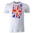 Fulham Road London Men's Fashion T-Shirt (White)