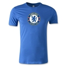 Chelsea Crest Men's Fashion T-Shirt (Royal)