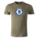 Chelsea Crest Men's Fashion T-Shirt (Dark Green)