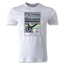 Jose's Back Graphic T-Shirt (White)